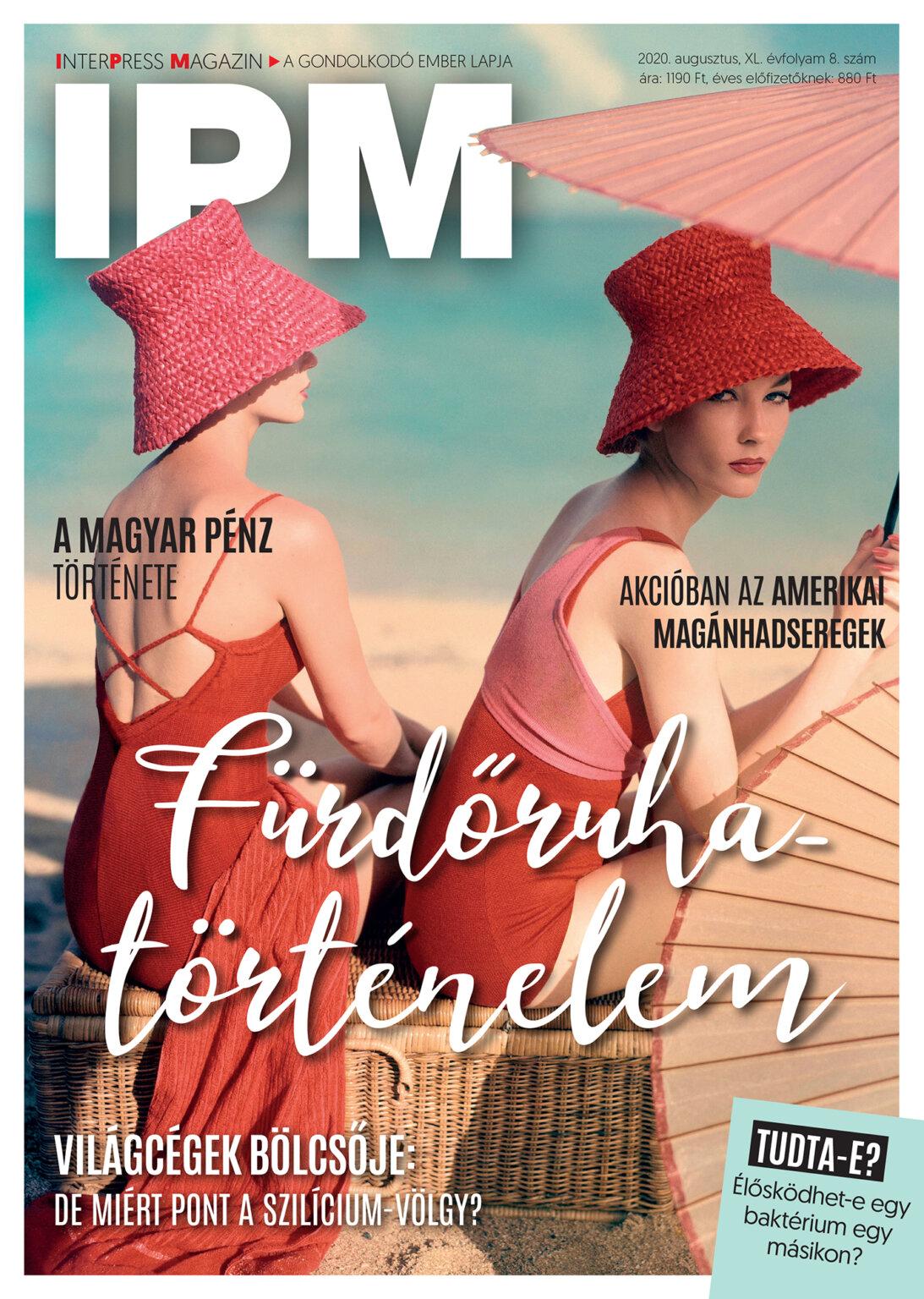 Megjelent az IPM augusztusi száma!